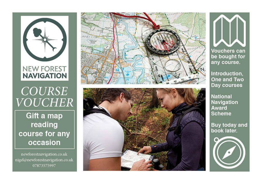 map reading course gift voucher web image