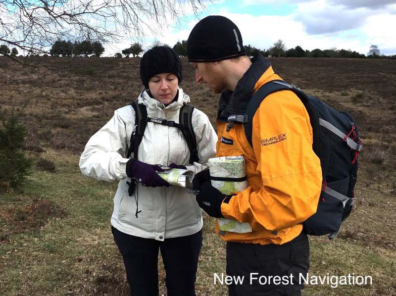 Wear and bring the correct clothing to enjoy a New Forest Navigation map reading course