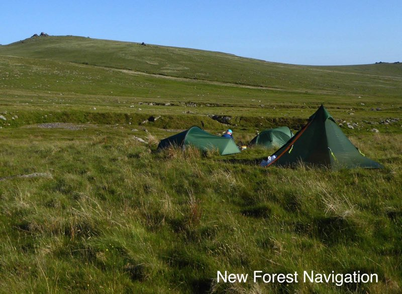 wild camping on dartmoor national park