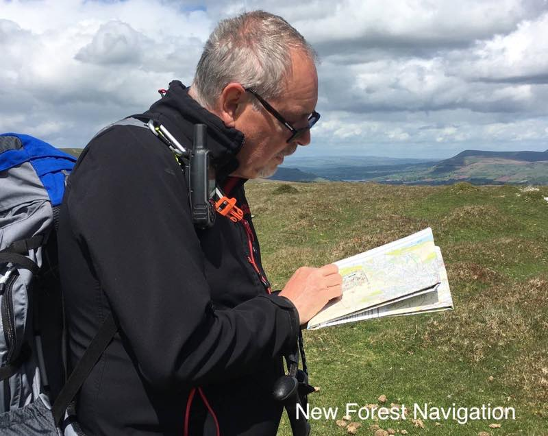 learn to use a compass to naviagte uk hills and mountains on a gold NNAS