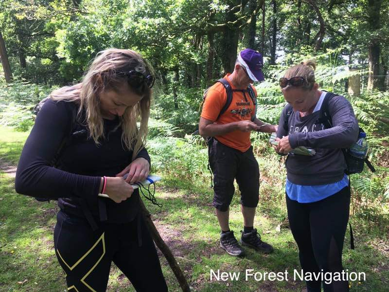 learning to reloacte when lost on a navigation course