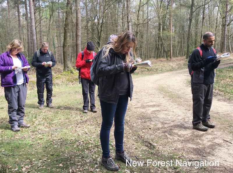 learning to use compass bearings and navigation skills on a one and two day how to use a map and compass course