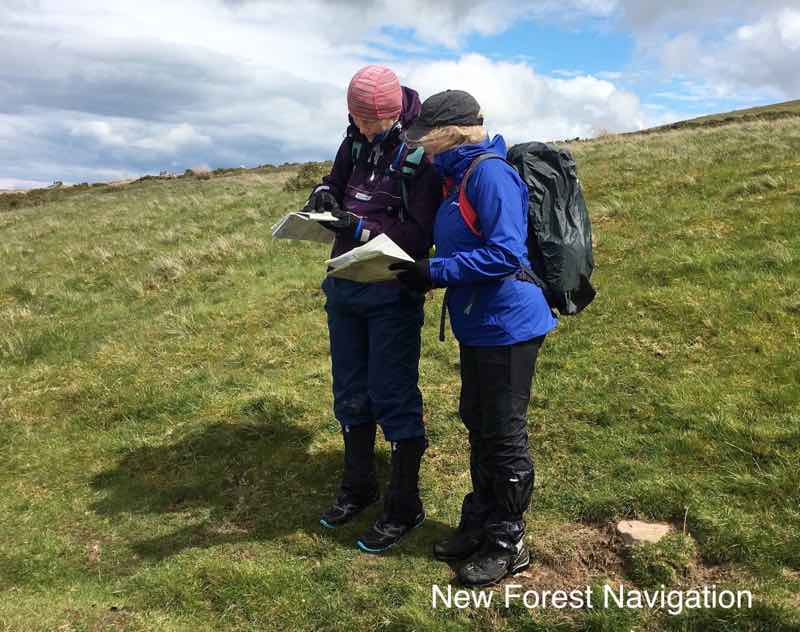 useing maps and compasses to plan and walk in UK hills and mountains