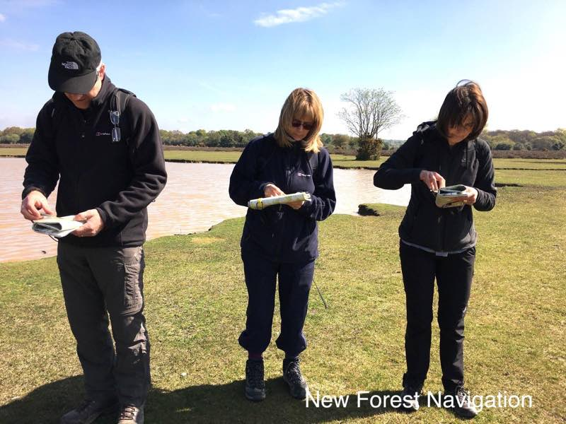 map reading group use maps and compasses