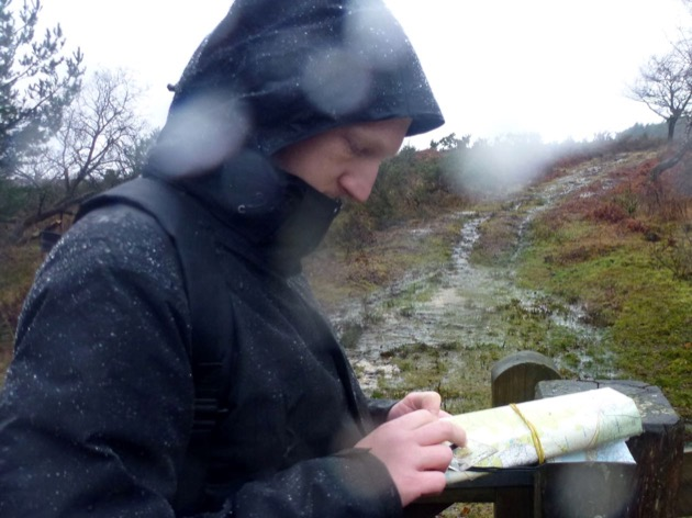 wet weather fun amn uses map and compass in the rain